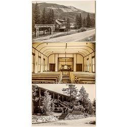 Three Real Photo Postcards; Grand Lakes, Colorado