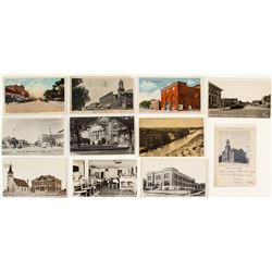 La Junta, Colorado Street and Building Postcards
