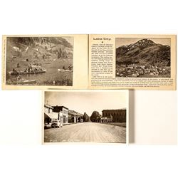 Lake City Real Photo Postcards