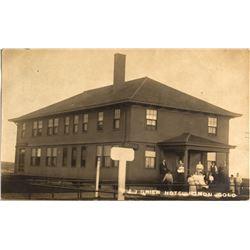 J.J. Grier Hotel  Postcard