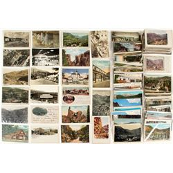 Manitou Springs, Towns and Scenery Postcards