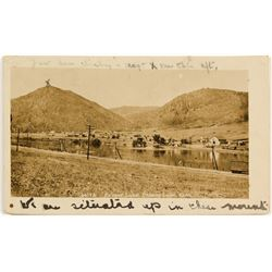 Old Palmer Lake, Colorado Postcard