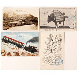4 Pike's Peak Postcards
