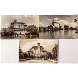 3 RPC's of Broadmoor Hotel