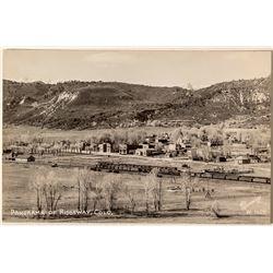 Photo Postcard from Ridgeway, Colorado