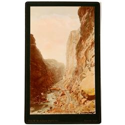 Hand Colored Photo of Royal Gorge