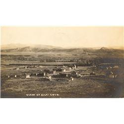 View of Silt  Postcard