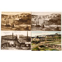 4 Colorado Mining Postcards