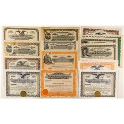 Colorado Investment Company Stock Certificates