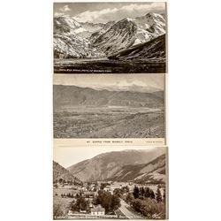 Colorado Mountain Scenery Postcards