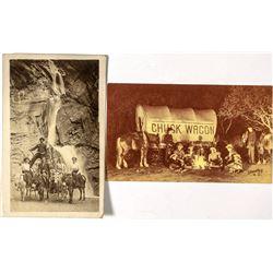 Western Colorado Chuck Wagon Postcards