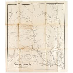 Dakota Territory Map