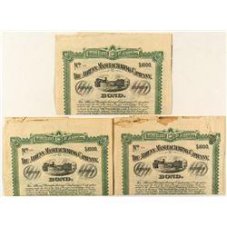 Three 1897 Georgia Bonds