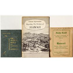 3 Hawaii Promotional Booklets