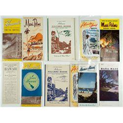 Hawaiian Hotel Pamphlets