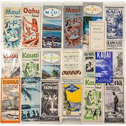Hawaiian Island Pamphlets