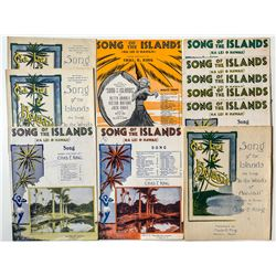 Song of the Islands by Chas. E. King