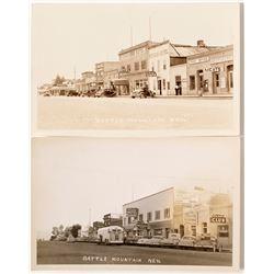 Battle Mountain Main Street Photo Postcards #1