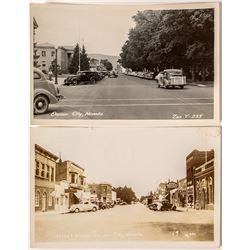 Carson City Street Views Postcards