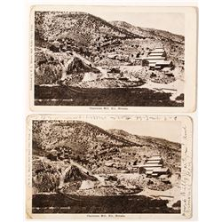 Chainman Mill, Ely, Nevada Photo Postcards