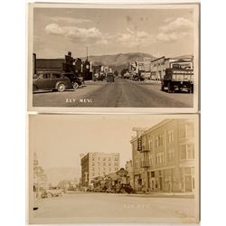 Two Ely Real Photo Postcards