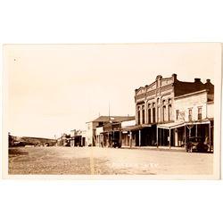 Early Eureka Street Scene Postcard