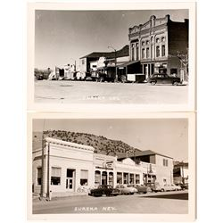 Real Photo Postcards Street Scenes of Eureka