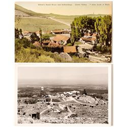 Two Postcards: Ruby Hill & Schoer's Ranch