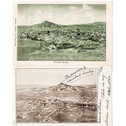 Bird's Eye View Postcards; Goldfield