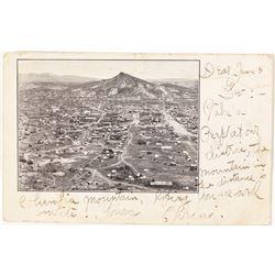 Columbia Mountain Photo Postcard; Goldfield