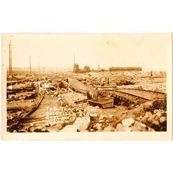 Flood of 1913 Real Photo Postcard; Goldfield, Nevada