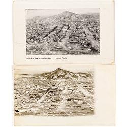 Goldfield Bird's Eye View Postcards