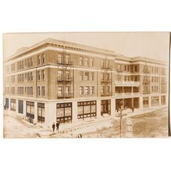 Goldfield Hotel Real Photo Postcard