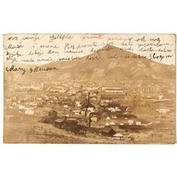 Goldfield Town View Real Photo Postcard
