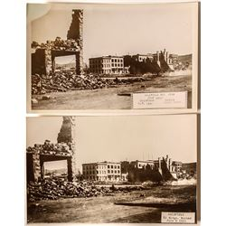 Great Fire of 1923 Postcards; Goldfield