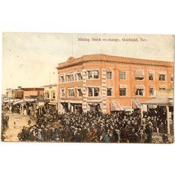Rare Mining Stock Exchange View; Goldfield