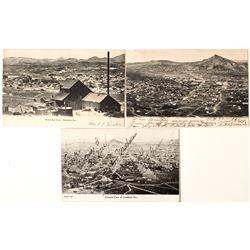 Three Birds Eye Views of Goldfield