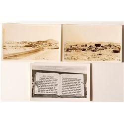 Three Goldfield Panoramic Postcards