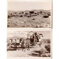 Two Goldfield Frasher Postcards