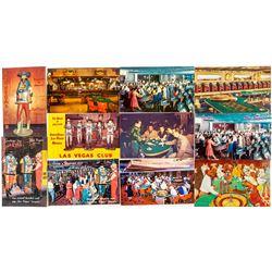 Las Vegas Gambling Postcards