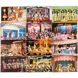 Las Vegas Showgirls Postcards