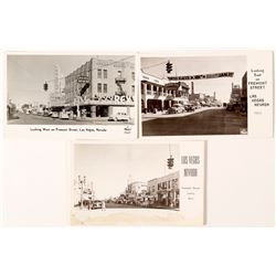 Three Las Vegas Frasher Postcards