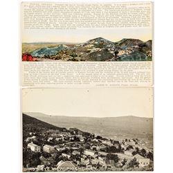 2 Pioche Postcards