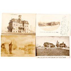 Four Premier University of Nevada Postcards