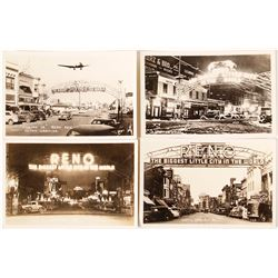 Large Reno Arch Postcard Collection