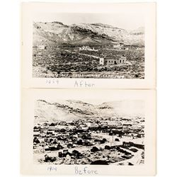 Before & After of Rhyolite