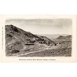 Montgomery Shoshone Mine Postcard