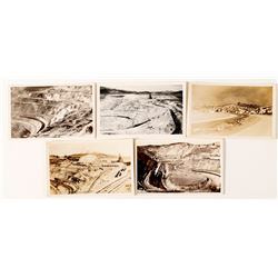 Open Pit Copper Mine Postcards