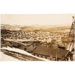 Real Photo Postcard; Ruth Company Houses