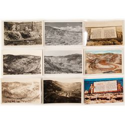 Real Photo Postcards of the Ruth Copper Mine